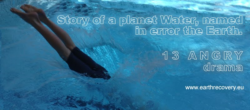At Planet Earth, which covers two-thirds water dominated creature who has no gills. Therefore had to go into space!