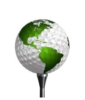 Golf ball Earth