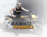 Jožo Ráž as a Rambo
