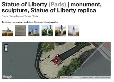 Statuete Liberty Paris 2015