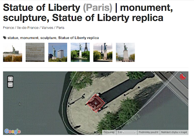Statuete Liberty Paris 2015