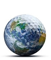 golf ball Earth