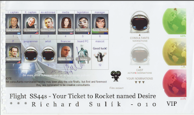 Richard Sulik delivery VIP ticket 15122011