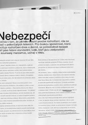 KRAUS zarýpal aj do Murdocha, no mediakracia ČR nechrozí
