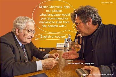 Noam Chomsky ane Oleg Makara